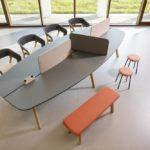 Tischsystem creva desk