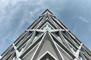 Gebäudeecke Bürogebäude Markas