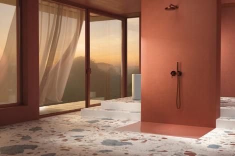 Von der Duschfläche zur Duschfliese