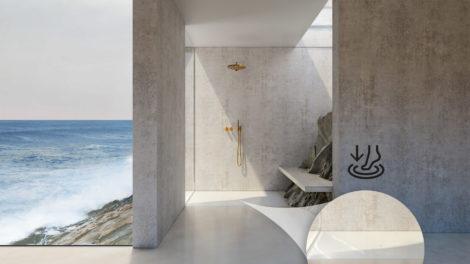 Antirutsch Dusche Bette Air Duschfliese