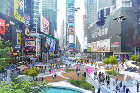 New Mobility Studie - Times Square