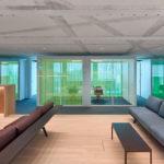 Büro Arbeitsfläche Roche Basel
