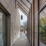 Pergola Wohnhaus Holzbau rundzwei Architekten