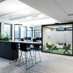 open space in der biophilen Arbeitswelt