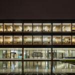 Transparente Gebäudehülle des Landtag