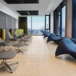 Der Designklassiker von Kusch+Co hat in der Tempelhof Loung