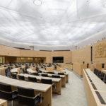 Tageslicht im Plenarsaal