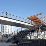 Treppe Fußgängerbrücke