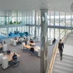 Großraumbüro Innovation Center