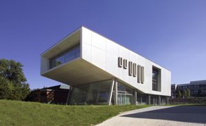 Hörsaalgebäude im Bezirksklinikum Regensburg