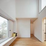 Schlafzimmer Wohnhaus Holzbau rundzwei Architekten