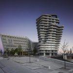 Das Ensemble aus Unilever-Haus und Marco Polo Tower von Behnisch Architekten bildet das Entree zum neuen Quartier auf dem Strandkai.