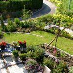 Hausgarten Wilhelmi - Die Bogenbeete