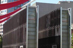 Footbridge and Gateway