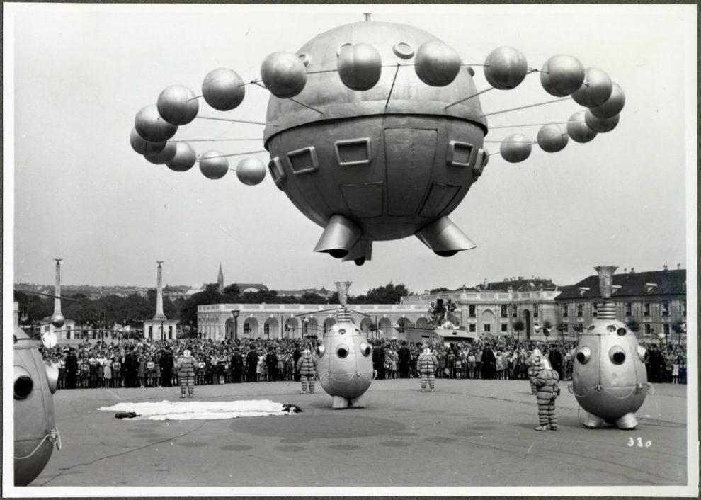 """Filmstill aus """"1. April 2000"""", AT 1952, 105 min., dOF, R: Wolfgang Liebeneiner © Filmarchiv Austria"""
