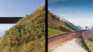 Perspektivenweg, Seegrube in Innsbruck, Österreich © Christian Flatscher
