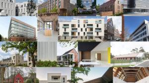 Gebäude Collage