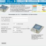 Online-Tool zur Berechnung Flachdach-Abläufe Loro