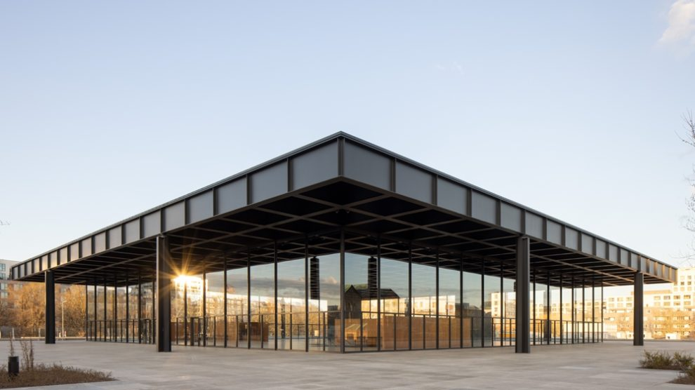 Dachkonstruktion neue Nationalgalerie David Chipperfield