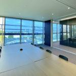 FC-Campus mit dynamisch schaltbarem eyrise® Sonnenschutzglas