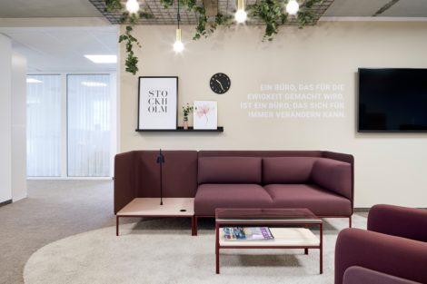 Neuen Hauptsitz in Worms mit Living Showroom
