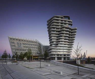 Städtebauprojekt   Hamburg Marco Polo Tower - arcguide.de