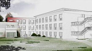 Altenpflegeheim in Modulbauweise nach Passivhausstandard