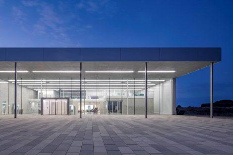 Neubau der Filterfabrik für B.Braun in Wilsdruff (Sachsen)