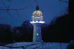 Umbau eines Wasserturms zu Veranstaltungsräumen in Solingen