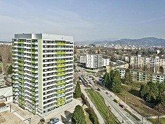 Sanierung eines Wohnhochhauses in Freiburg