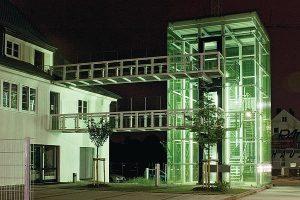 Anbau eines Treppenhausturmes in Ingolstadt