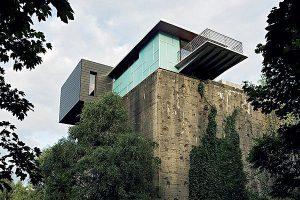 Aufstockung eines Hochbunkers zum Penthouse in Hamm