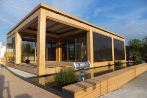 FASCO®-Fassadensystem erfüllte höchste Ansprüche an die Optik im Haus der Zukunft des Teams Ecolar beim diesjährigen Solar Decathlon Wettbewerb