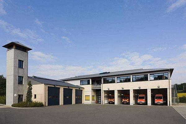 Feuerwehrhaus in Wasserbillig in Luxemburg