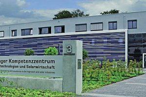 Kompetenzzentrum für Hochtechnologien und Solarwirtschaft in Erfurt