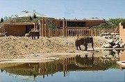 Elefantenhaus im Zoo in Kopenhagen (DK)