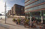 Die Barcelona-Fraktion in der HafenCity in Hamburg