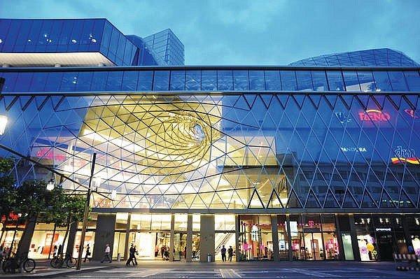 Einkaufszentrum in Frankfurt