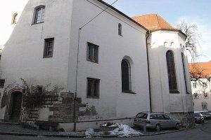 Sanierung einer Kirche in Memmingen