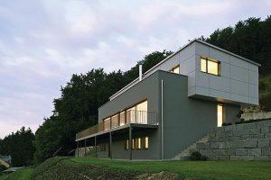 Wohnhaus im Passivhausstandard in Riedenburg
