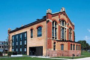 Umbau und Sanierung eines Kesselhauses zum Bürogebäude in Offenburg