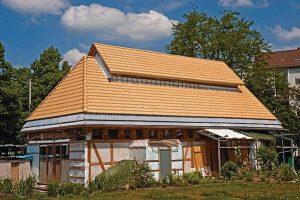Wiederaufbau eines Fachwerkhauses in Braunschweig