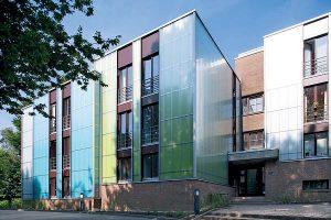 Energetische Vollsanierung eines Studentenwohnheimes in Wuppertal