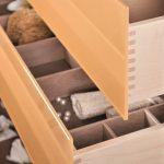 Neuheit: Rahmenlose Schubkasten – Glasblende mit TipOn
