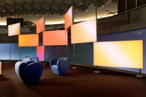 Luminous Textile - Neues Gestaltungselement in der Architektur