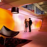Luminous Textile - Neues Gestaltungselement in der Architektur