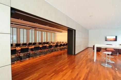 Umbau Konferenzraum + Lounge