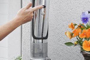 Erste Design-Wasserklappe ermöglicht formschöne Entwässerung
