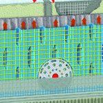 Die armierte Bekleidungsträgermatte von Gutjahr bildet eine 10 mm dicke Belüftungsschicht zwischen Untergrund und Belag. Dadurch wird diffundierender Wasserdampf zuverlässig im System abgeführt, bevor es zu Schäden an der keramischen Bekleidung kommt. Gle