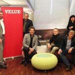 Die Jury des Velux Architekten-Wettbewerbs 2013: (v.l.n.r.) Christian Krüger (Leitung Architektur-Planung, Velux Deutschland GmbH), Claus-Peter Haller (Chefredakteur Wohnglück), Prof. Martin Haas (haascookzemmrich STUDIO 2050) sowie Vorjahressieger Ulrich